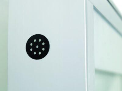 Wand informatiekast Morbidelli 60 4xA4 Buiten